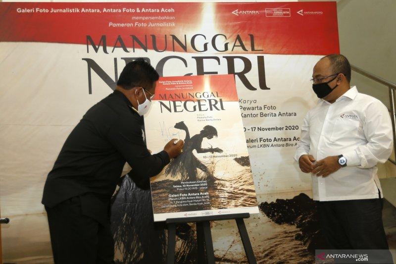 Akhmad Munir : Pameran foto ANTARA bangun semangat gotong-royong di masa pandemi