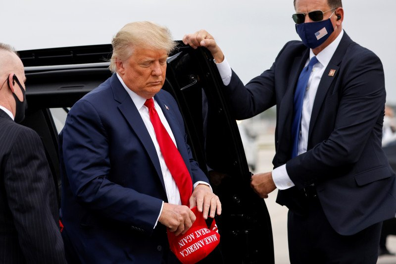 Tokoh-tokoh Republik dukung Trump gugat hasil pemilu asal buktinya kuat