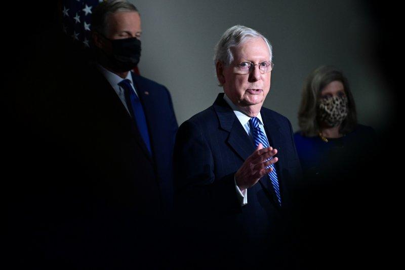 Pemimpin Republik di Senat jamin gugatan di pengadilan tak ganggu transisi kekuasaan
