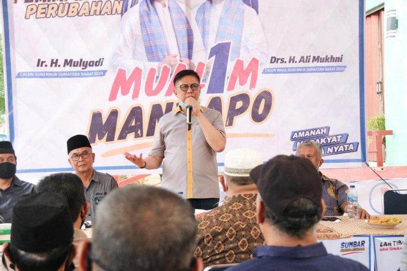 Miliki kerja nyata dan program bagus, Mulyadi diharapkan masyarakat Sijunjung jadi gubernur