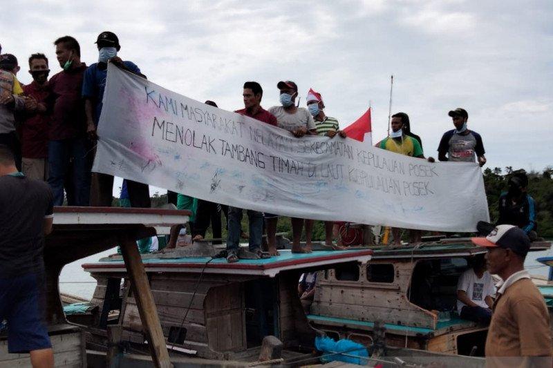 Pemuda Posek bantah aksi demo mereka  didanai pengusaha
