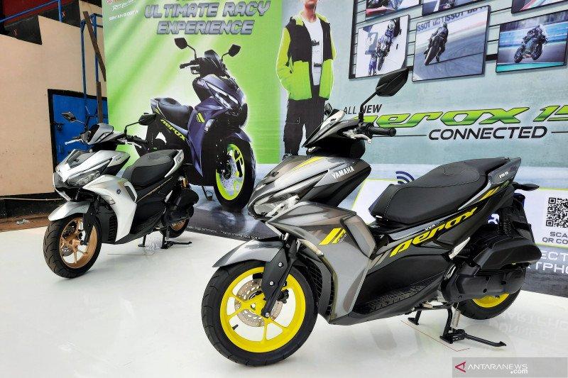 Ini alasan Yamaha All New Aerox 155 tidak dilengkapi rem cakram belakang