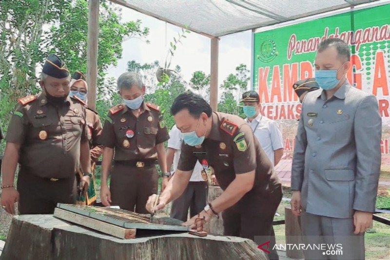 Kampung Adhyaksa di Gumas terbuka bagi masyarakat