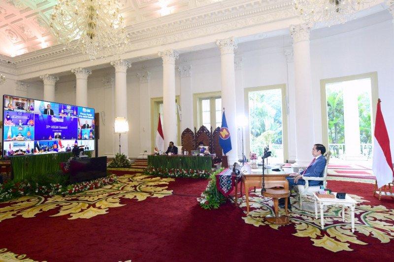 Presiden Joko Widodo sambut baik ASEAN Travel Corridor Agreement