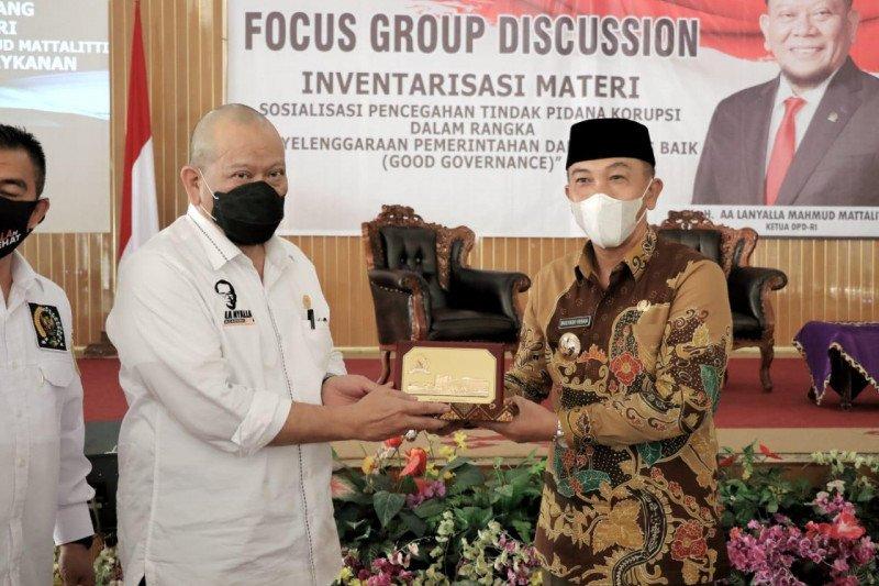 Ketua DPD RI apresiasi Perpres 102/2020 perkuat KPK