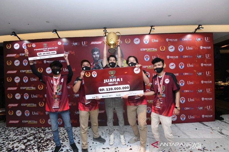 Tim SMAN 13 Kota Depok juara Piala Pelajar Free Fire Jabodetabek