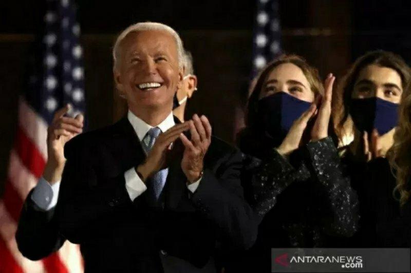 """Ganti kebijakan """"America First"""" milik Trump, Biden sebut """"America is back"""""""