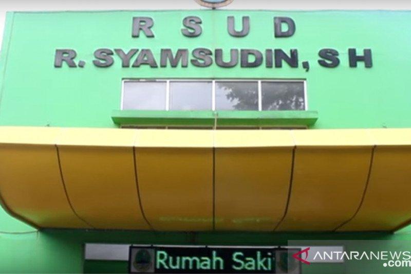Ruang isolasi pasien positif COVID-19 di Kota Sukabumi penuh