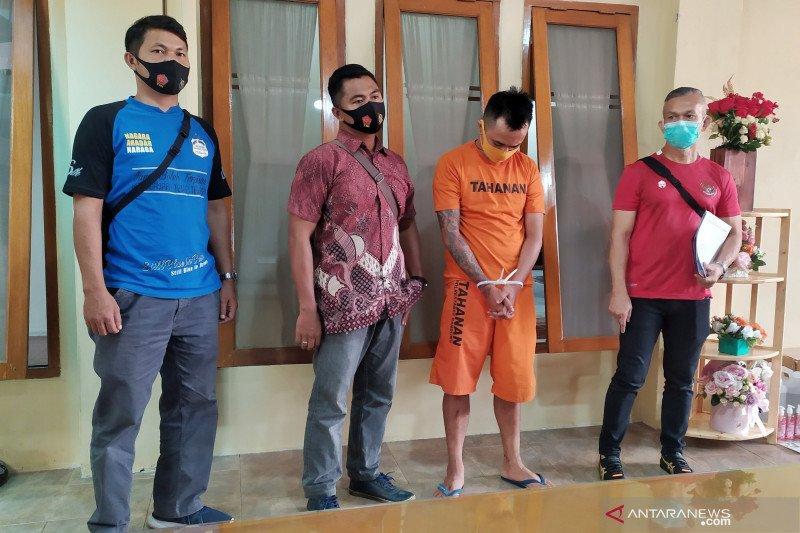 Polrestabes Bandung tangkap pelaku ujaran kebencian menantang polisi di medsos
