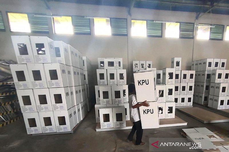 KPU Palangka Raya mulai siapkan logistik Pilkada Kalteng 2020