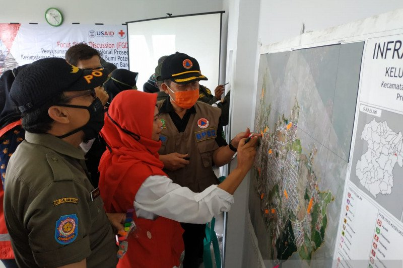 PMI inisiasi susun SOP kesiapsiagaan dan tanggap darurat gempa