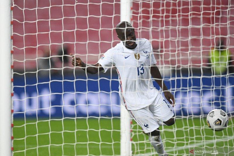 Prancis pastikan ke empat besar Nations  League