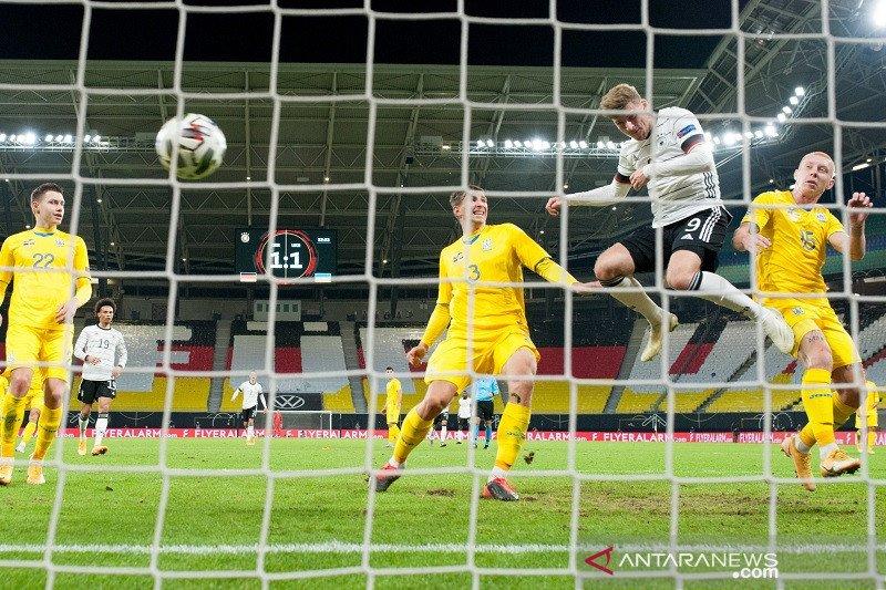 Jerman bangkit dan hempaskan Ukraina  3-1