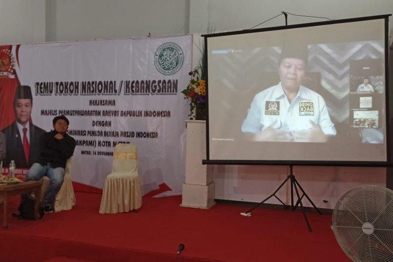MPR sebut mereka yang salah artikan Islam dan Indonesia perlu dituntun