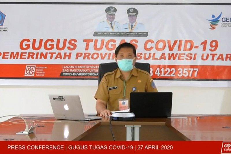 Di Sulut, pasien positif COVID-19 sembuh mencapai 4.950 orang