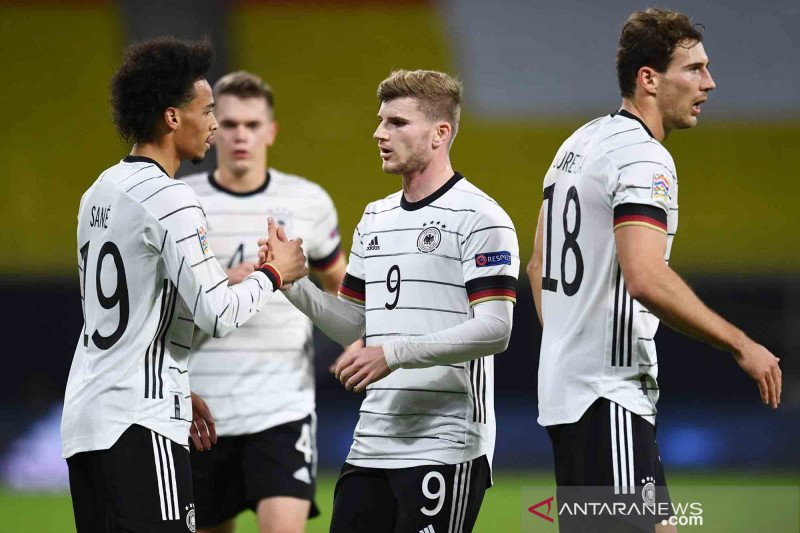 Jerman tetap lakoni laga kualifikasi Piala Dunia 2022 kontra Islandia