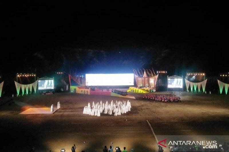 Pembukaan MTQ Nasional ke-28 di Sumbar kental dengan adat Minangkabau