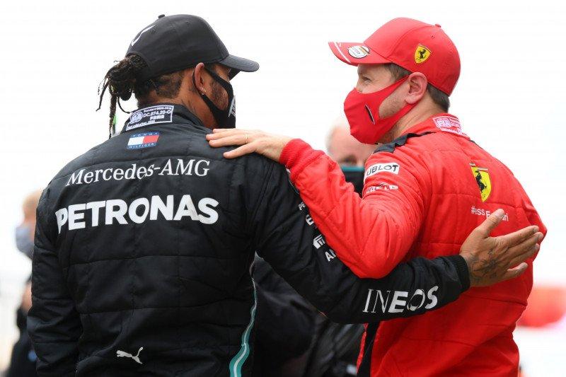 Sebastian Vettel sebut Lewis Hamilton