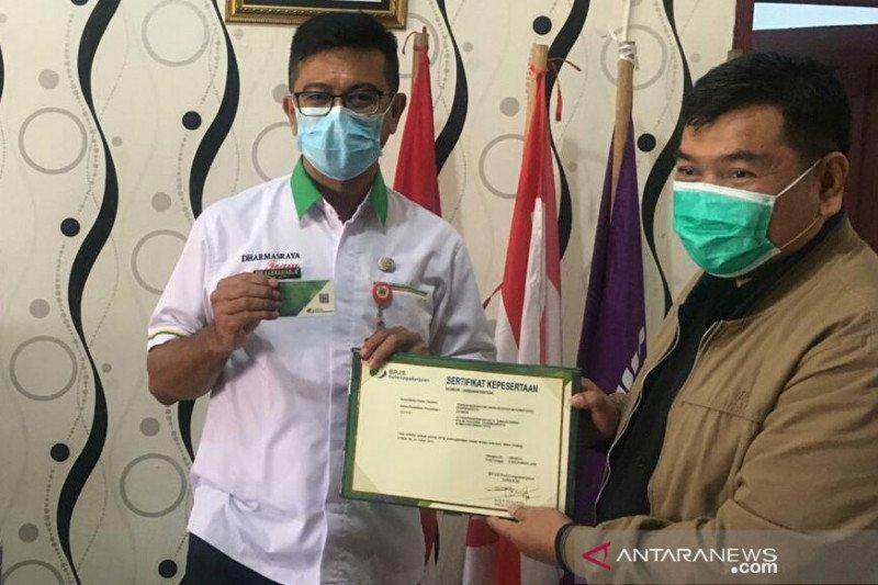 Dharmasraya daftarkan 539 orang tenaga kesehatan penanganan COVID-19 ke BPJAMSOSTEK