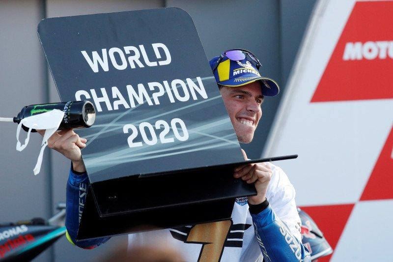 Joan Mir raih juara dunia MotoGP pertamanya