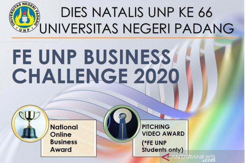 FE UNP tingkatkan jiwa bisnis mahasiswa lewat business challenge 2020