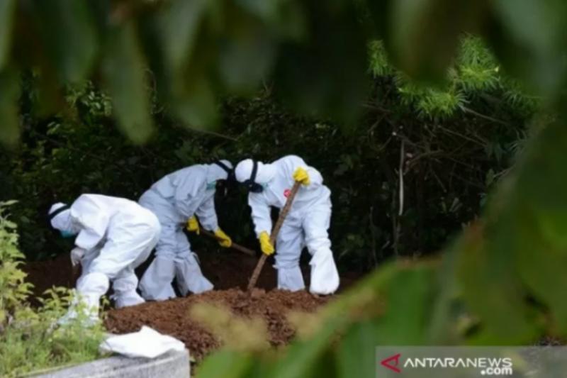 Pasien COVID-19 meninggal di Sultra menjadi 91 orang