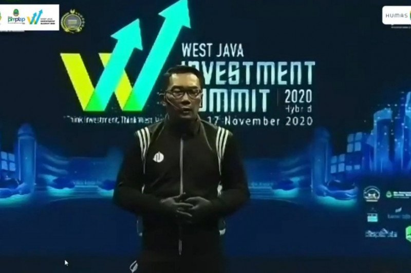 Gubernur Ridwan Kamil beberkan alasan harus berinvestasi di Jawa Barat