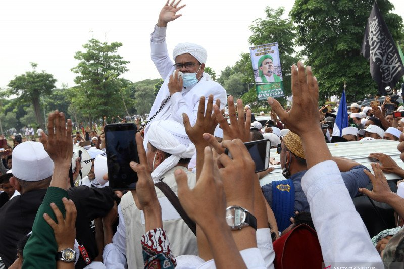 Polri bakal panggil Rizieq Shihab untuk diperiksa soal pelanggaran prokes