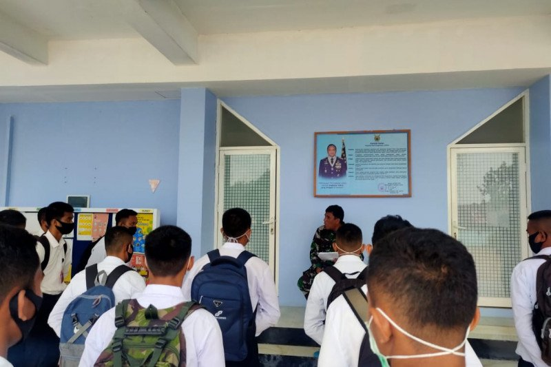 Lanud Sam Ratulangi seleksi tamtama Paskhas TNI AU