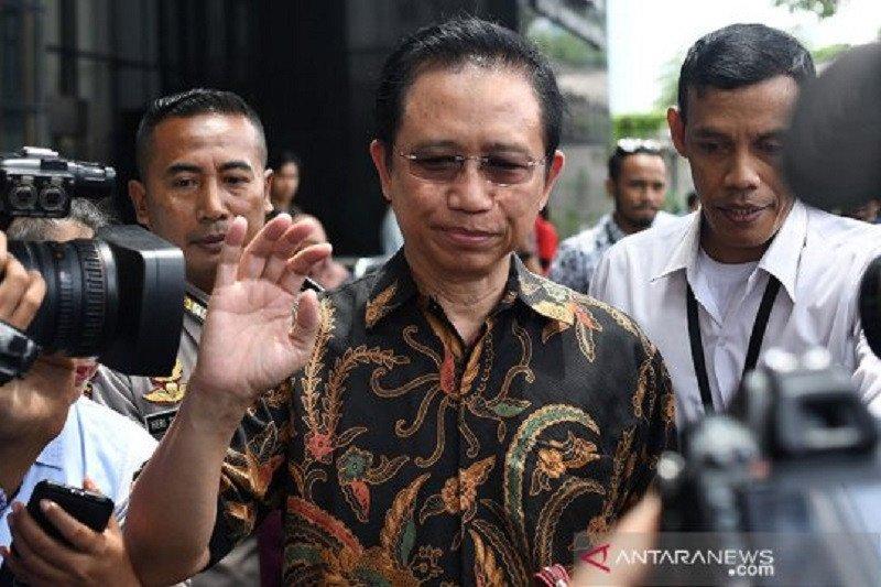 Marzuki Alie diklarifikasi KPK namanya disebut dalam perkara tersangka Nurhadi