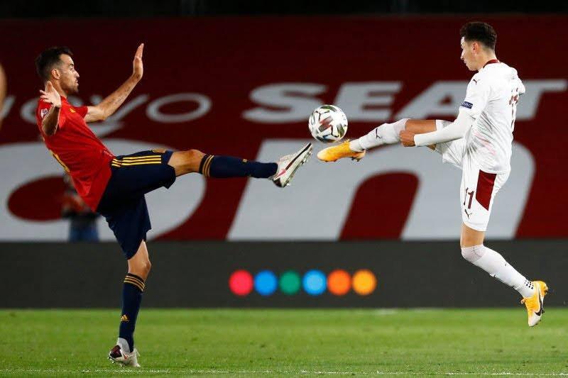 Jelang pembukaan Euro 2020, Kapten timnas Spanyol Sergio Busquet positif COVID-19