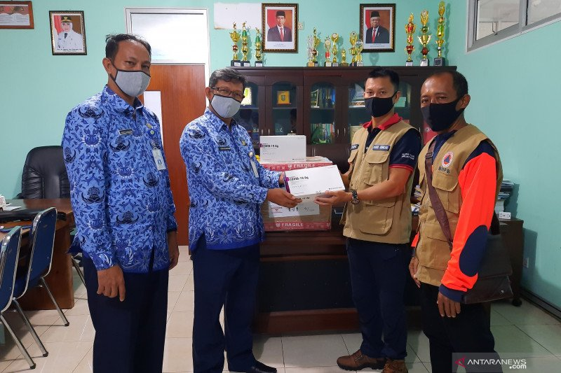 BNPB bantu 5.000 unit alat rapid tes untuk Natuna