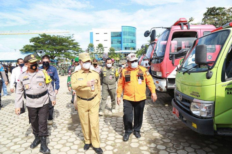 Teguh pimpin Siaga Bencana dan kesiapan Kaltara hadapi Pilkada