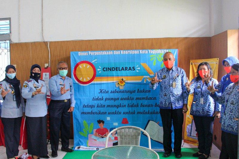 Pojok Baca Cindelaras dibuka di Lapas Perempuan Yogyakarta