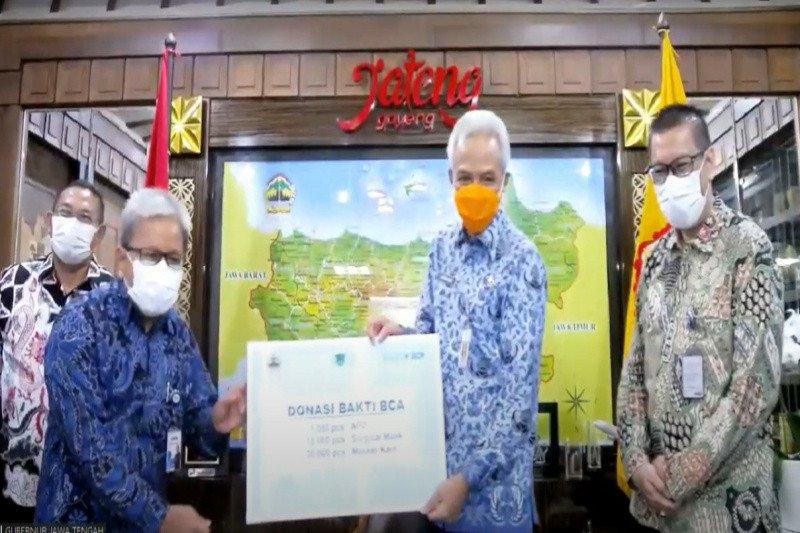BCA salurkan bantuan APD dan 30.000 masker kain ke Provinsi Jateng