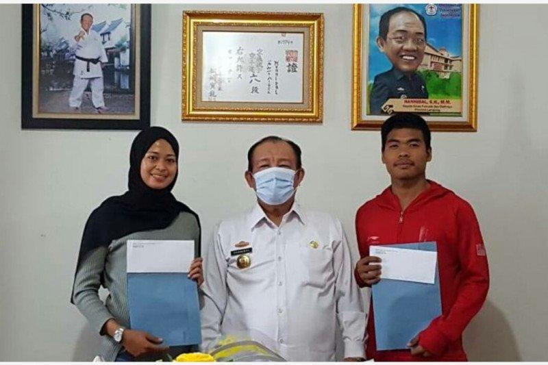 Dua karateka Lampung dipanggil Pelatnas