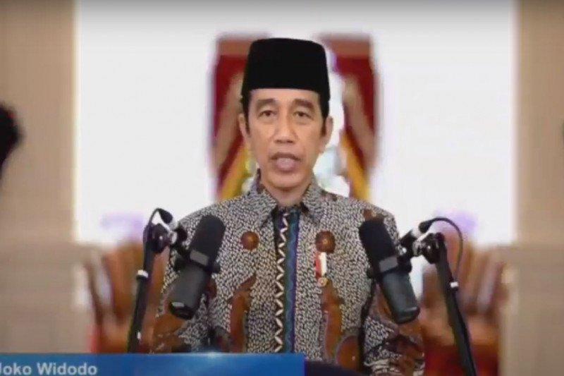 Presiden minta Muhammadiyah ikut perangi hoaks vaksin COVID-19