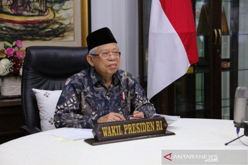 Wapres Amin: Pemerintah berupaya keras cegah krisis ganda ekonomi