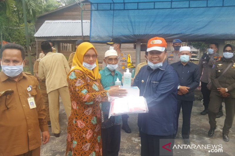 """Sempat menolak """"tracking"""", Bupati Meranti akhirnya terapkan PSBM di Desa Tanjung Peranap"""