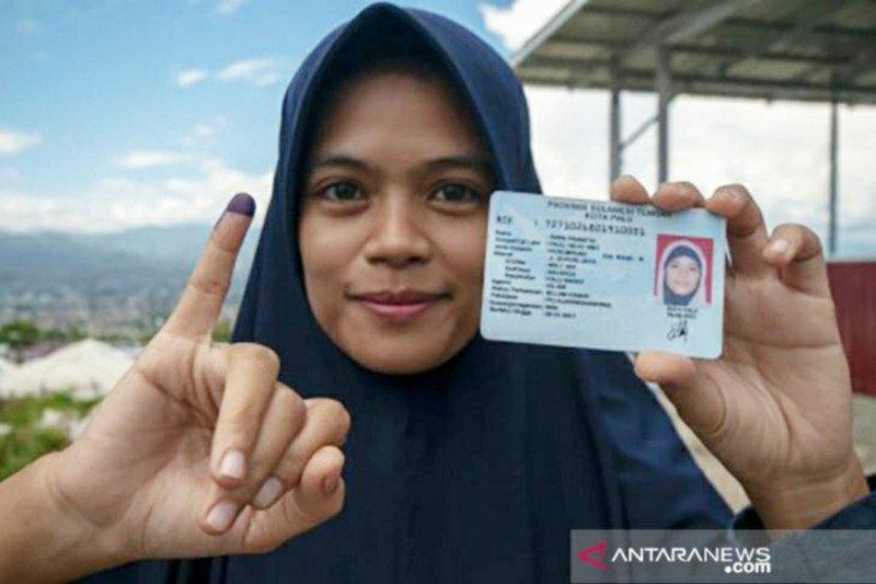 KPU Kota Palu  larang pemilih celupkan jarinya ke tinta cegah COVID-19