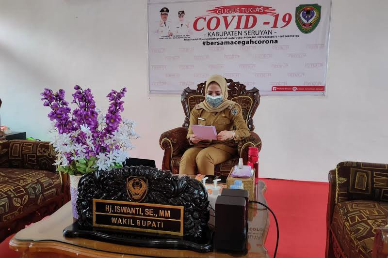 Wakil Bupati Seruyan Sampaikan Raperda APBD-2021