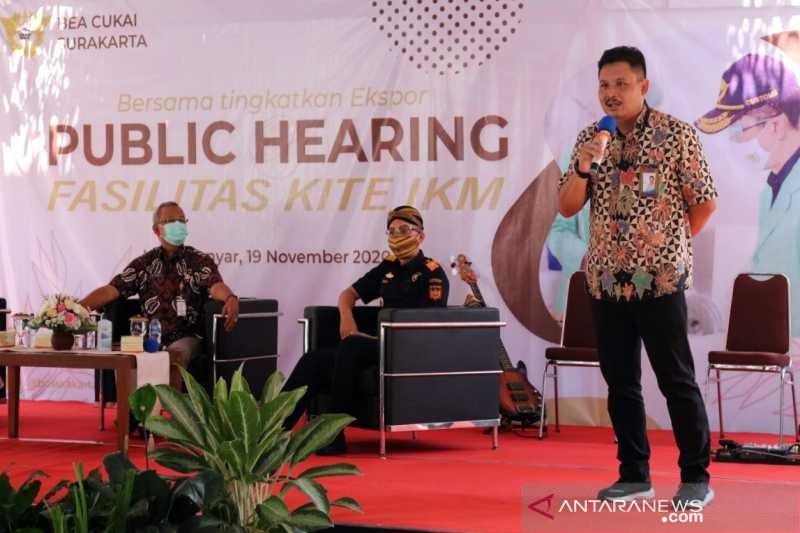 "Bea Cukai Surakarta gelar ""public hearing"" fasilitas KITE IKM"