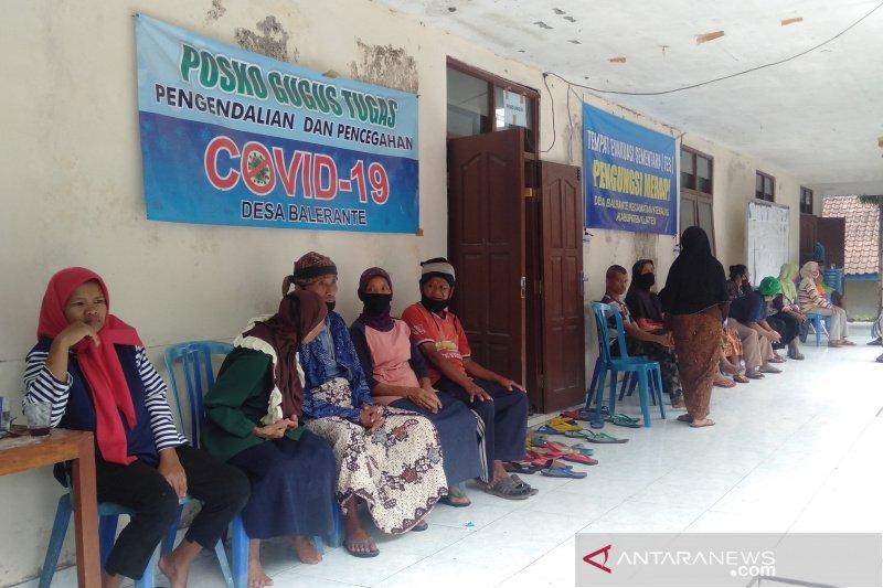 Jumlah pengungsi Merapi di Klaten di bawah 50 persen