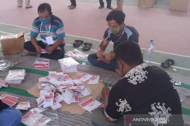 KPU Rembang mulai sortir surat suara pilkada