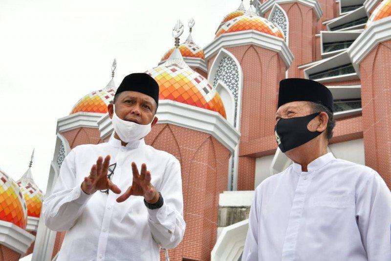 Pemprov Sulsel siapkan Rp22 miliar untuk rampungkan masjid 99 kubah di CPI Makassar
