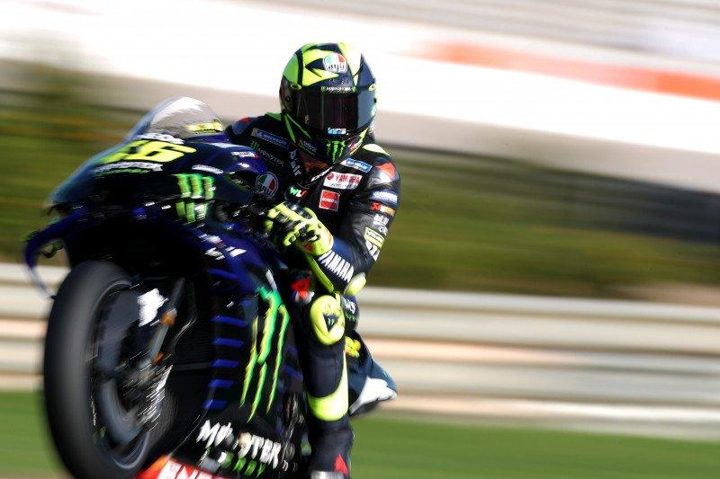Rossi  perpisahan dengan Yamaha  di balapan pamungkas
