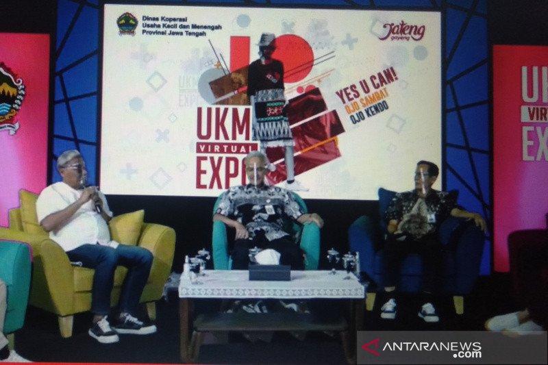 "Ganjar: ""UKM Virtual Expo"" bantu perkembangan ekosistem bisnis"