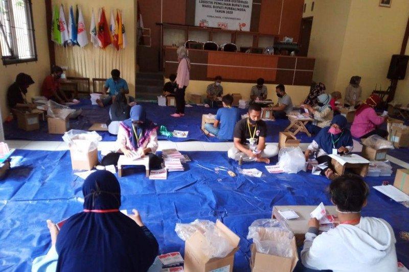 KPU Purbalingga siapkan terpal antisipasi kendala distribusi logistik saat hujan