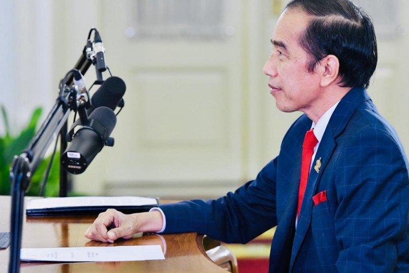 Presiden Jokowi hadiri KTT APEC 2020 secara virtual malam ini