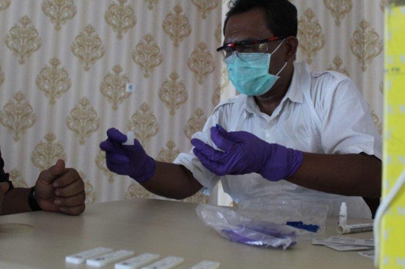 Inspektorat Lampung lakukan penelusuran kasus setelah pegawai positif COVID